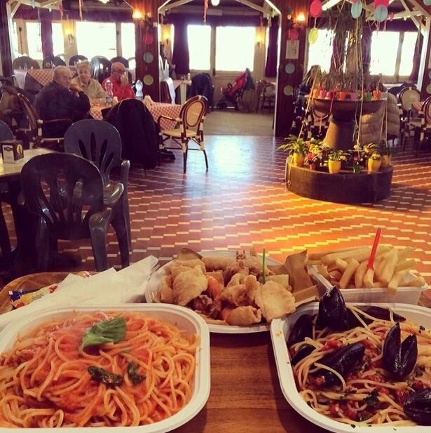 Bagno Rosalba Tirrenia Ristorante: Restaurants in Tirrenia Pisa Grand Hotel Continental.